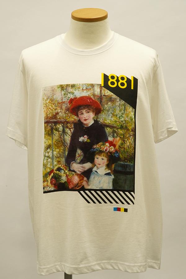 QS2536サンプルTシャツ(ルノワール)