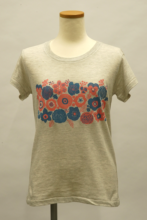 GP100サンプルTシャツ(花)