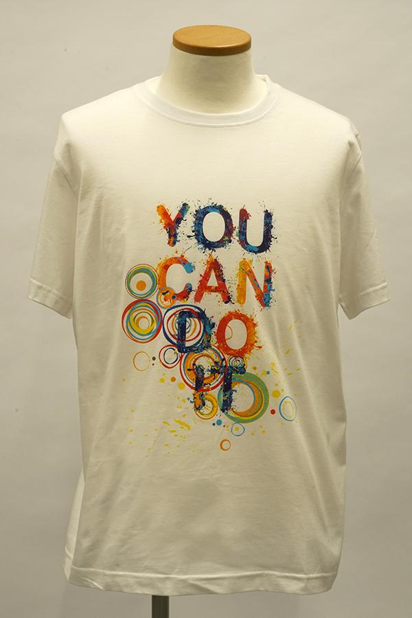 QS2536サンプルTシャツ(You Can Do It)