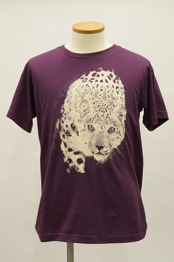 QS2536サンプルTシャツ(雪ヒョウ)